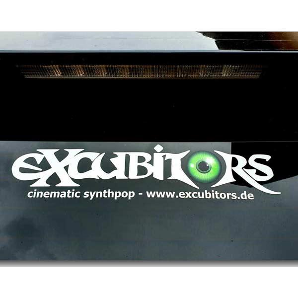 Autobeschriftung eXcubitors